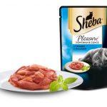 Sheba Pleasure с тунцом и лососем