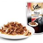 Sheba Mini со вкусом говядины