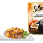 Sheba Appetito с телятиной и языком