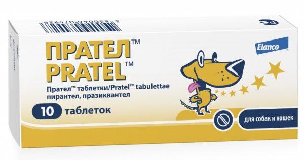 Упаковка таблеток Прател