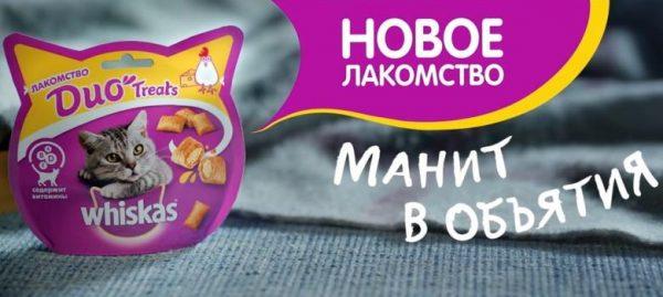 Реклама корма «Вискас»