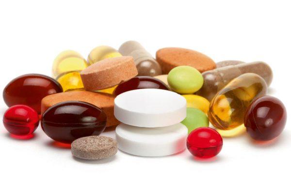 Витамины и минералы в виде БАД