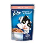 «Аппетитные кусочки с лососем» от «Феликс»