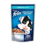 «Аппетитные кусочки с форелью» от «Феликс»