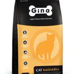 Корм для кошек Gina Cat Rabbit&Rice