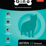 Корм для кошек Gina Kitten 33
