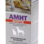 Упаковка препарата для кошек Амит Форте