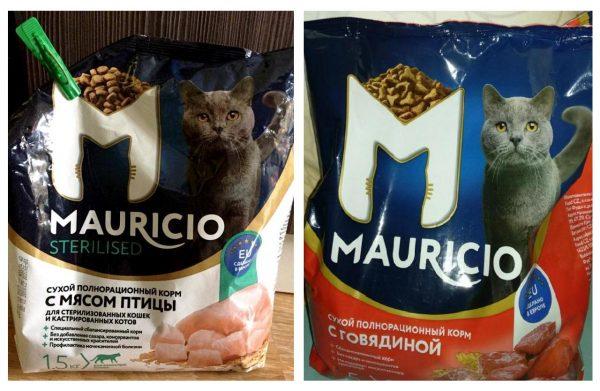 Сухие корма «Маурицио»