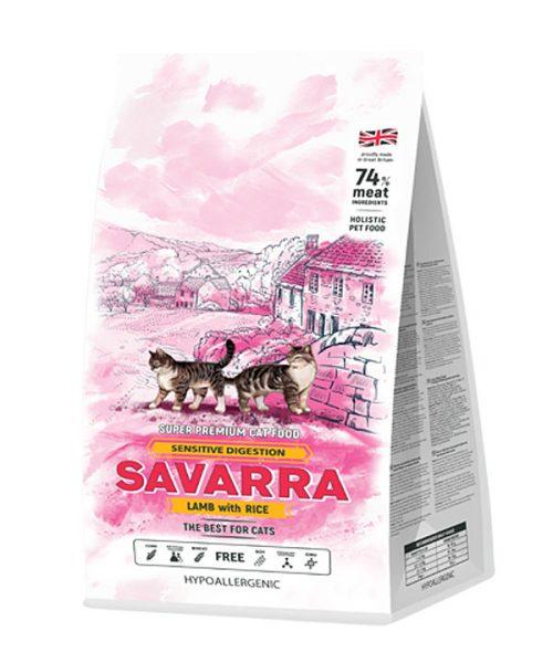 Сухой корм Sensitive Cat от « Саварра»