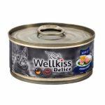 Веллкисс для кошек с курицей и кроликом