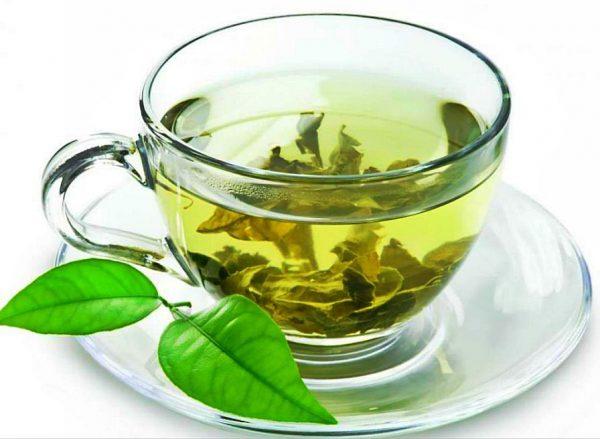 Настой листьев зелёного чая