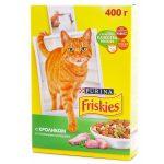 Friskies сухой корм для взрослых кошек