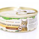 Консервы для кошек с ягнёнком