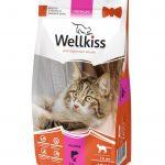 Сухой корм Wellkiss для взрослых кошек с рыбой