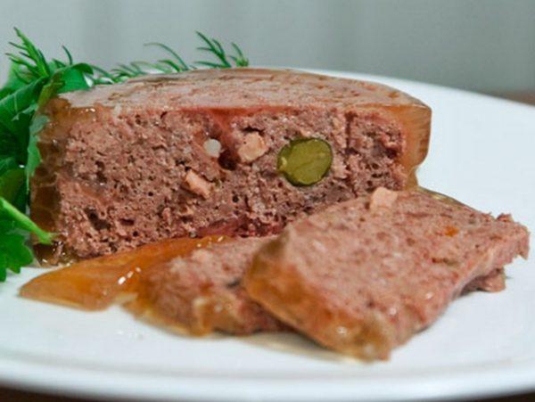 Корм All meat terrine