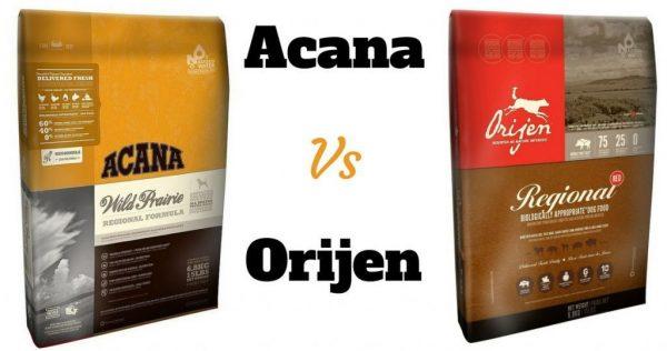 Acana и Orijen