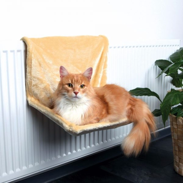 Гамак для кошки на батарее