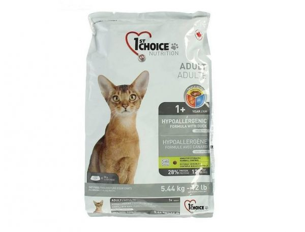 Гипоаллергенный корм для кошек 1st Choice Hypoallergenic