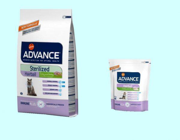 Advance Hairball Sterilized и Hairball Sterilized