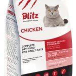 Сухой корм Blitz для взрослых кошек