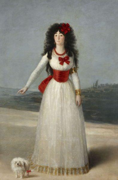 Картина Гойя «Герцогиня Альба»