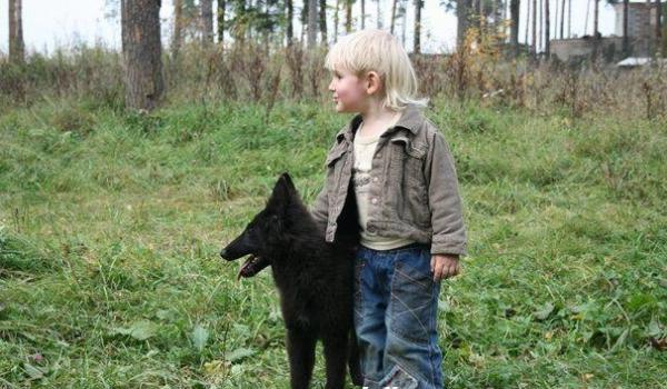 Грюнендаль с ребёнком