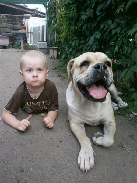 Ка де бо и ребёнок