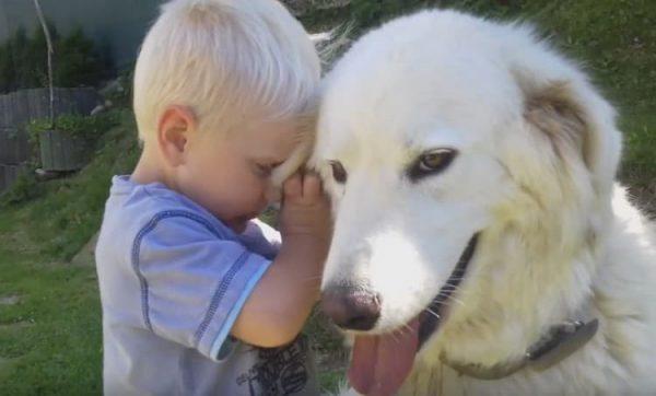Чувач и ребёнок