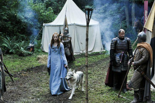 Картинка из сериала «Игра престолов» с участием северного инуита