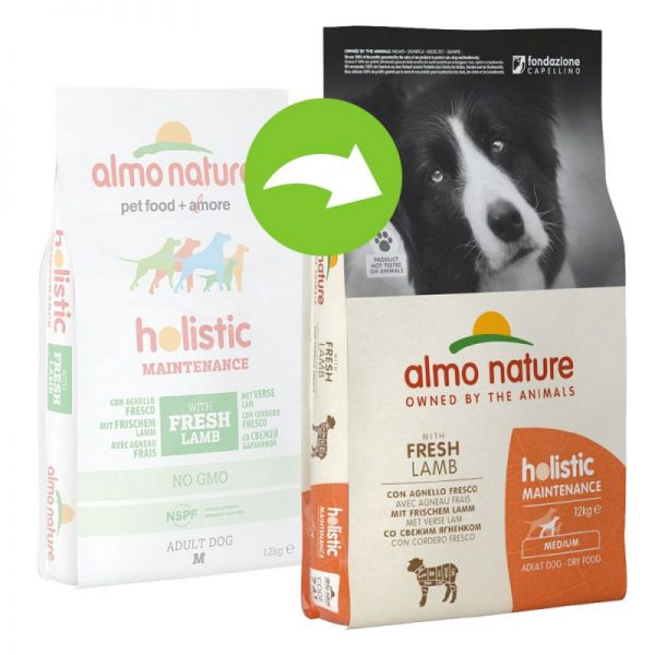 Almo Nature Holistic Adult Dog Large & Lamb