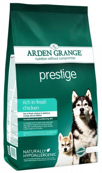 Arden Grange Adult Dog Prestige для взрослых собак с повышенными энергетическими потребностями