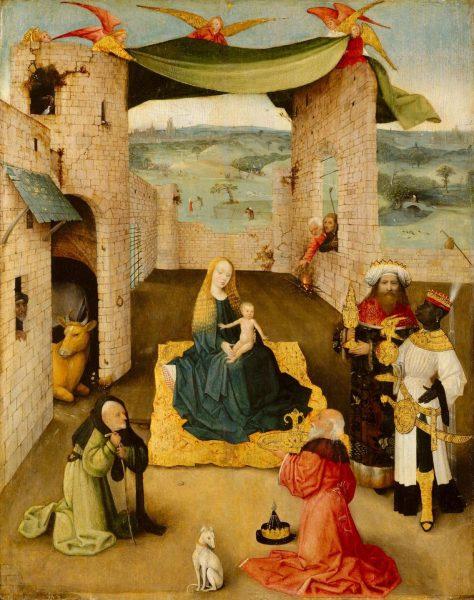 Картина Иеронима Босха «Поклонение волхвов»