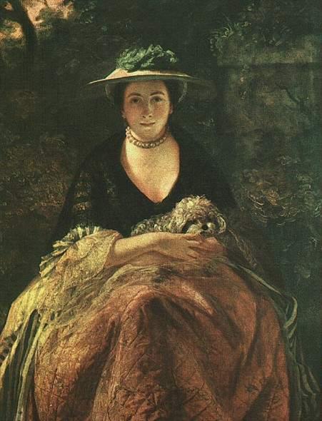 Картина Джошуа Рейнольдса «Дама с болонкой»