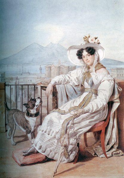 Портрет княгини Голицыной кисти Брюллова