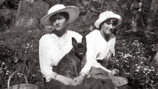 Дочери Николая II с собакой