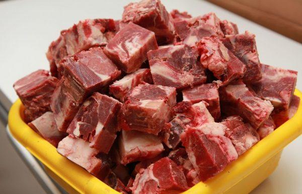 Мясо в миске