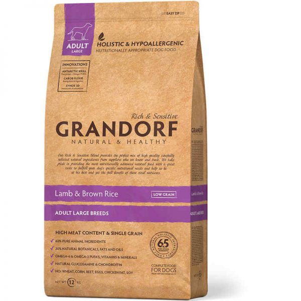 Grandorf Holistic Lamb & Brown Rice Large