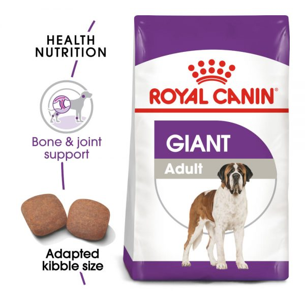 Особенности корма Royal Canin Giant Adult